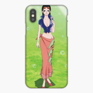 One Piece Nico Robin Sexy Outfit iPhone X Case