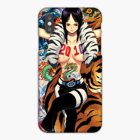 One Piece Nico Robin Sexy Wallpaper iPhone XS Case