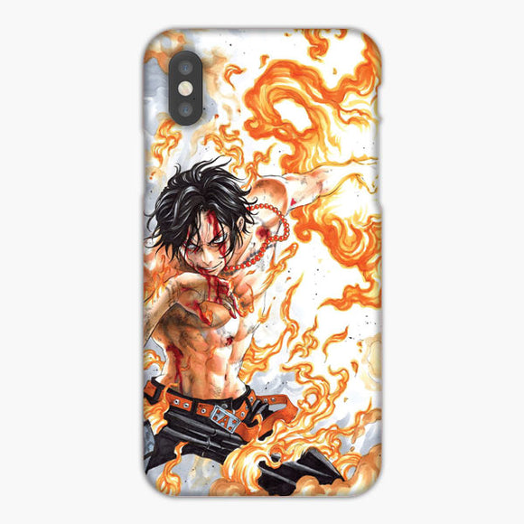 One Piece Portgas D Ace iPhone XS Max Case