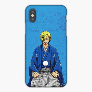 One Piece Sanji Blue Artwork iPhone 8 Case