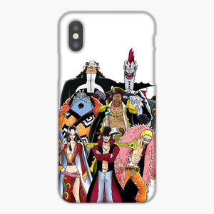 One Piece Shichibukai Pirates iPhone XS Max Case