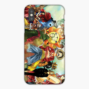 One Piece Straw Hat Crew iPhone XS Max Case