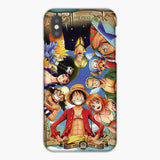 One Piece Straw Hat Monkey D Luffy Crew Wallpaper iPhone XS Max Case