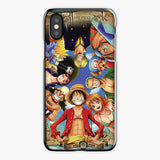 One Piece Straw Hat Monkey D Luffy Crew Wallpaper iPhone XS Case