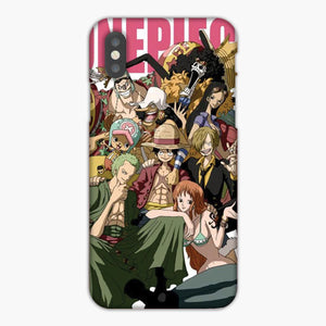 One Piece Straw Hat Monkey D Luffy Crew iPhone 8 Plus Case