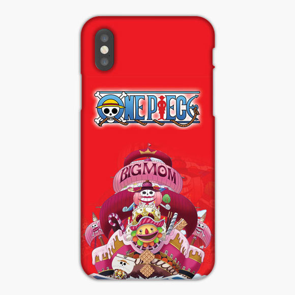 One Piece Yonko Big Mom Pirates Crew iPhone X Case