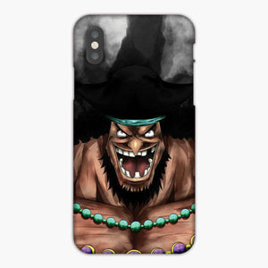 One Piece Yonko Marshall D Teach Blackbeard iPhone X Case
