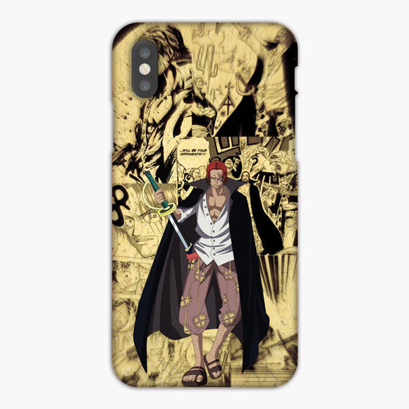 One Piece Yonko Shanks iPhone XS Max Case