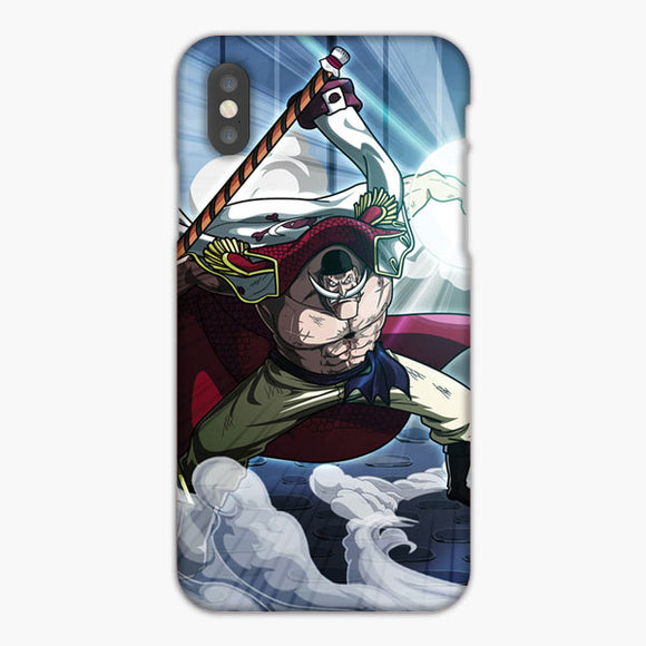 One Piece Yonko Whitebeard iPhone XS Max Case