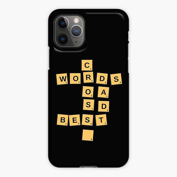 Openings Crossword Clue iPhone 11 Pro Case, Snap 3D Case