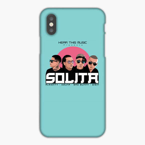 Ozuna Ft Bad Bunny Almighty Y Wisin iPhone XS Max Case