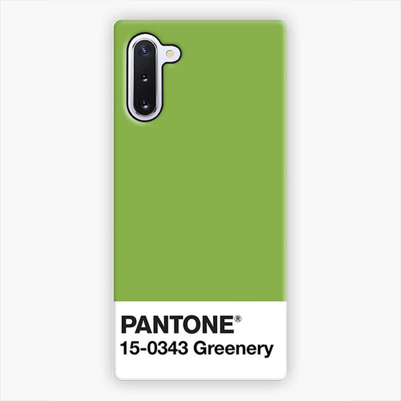Pantone Greenery Samsung Galaxy Note 10 Case, Snap 3D Case