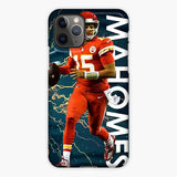 Patrick Mahomes Galaxy Star iPhone 11 Pro Case, Plastic Case, Snap Case & Rubber Case