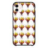 Pattern With Cute Turkeys And Maple Leaves iPhone 11 Case