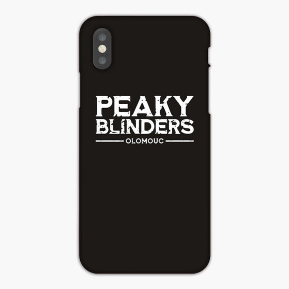 Peaky Blinders Bar Olomouc iPhone XS Max Case