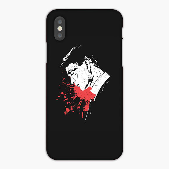 Peaky Blinders Tommy Shelby Splatter Men'S iPhone XS Max Case