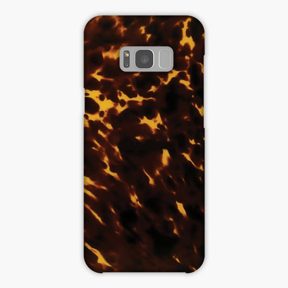 Polished Tortoise Samsung Galaxy S8 Case, Snap Case 3D Print