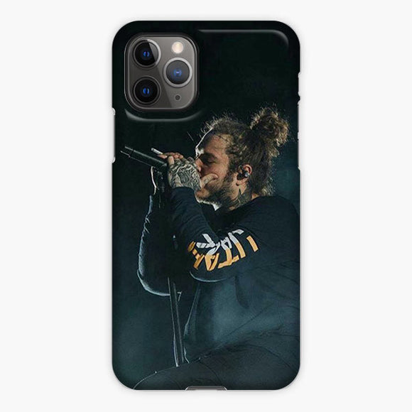 Post Malone Singer Rep iPhone 11 Pro Max Case, Plastic Case, Snap Case & Rubber Case