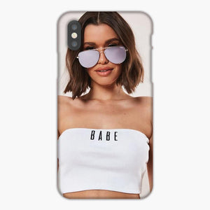 Quay Australia X Desi Perkins Gold High Key Rimless Sunglasses iPhone 7 Case