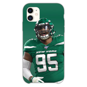 Quinnen Williams Jersey New York iPhone 11 Case