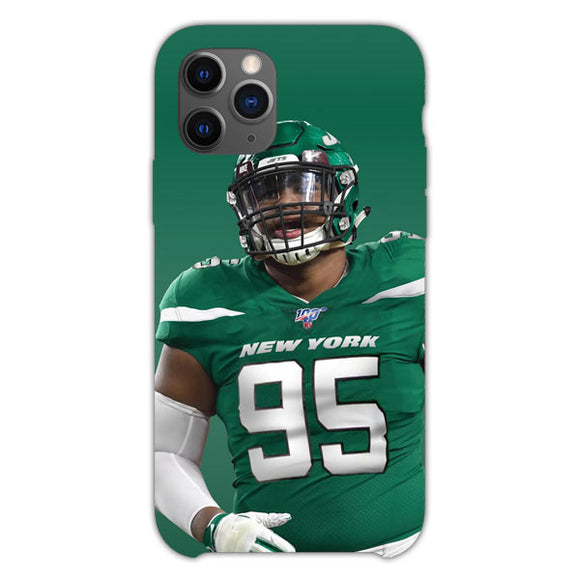 Quinnen Williams Jersey New York iPhone 11 Pro Case