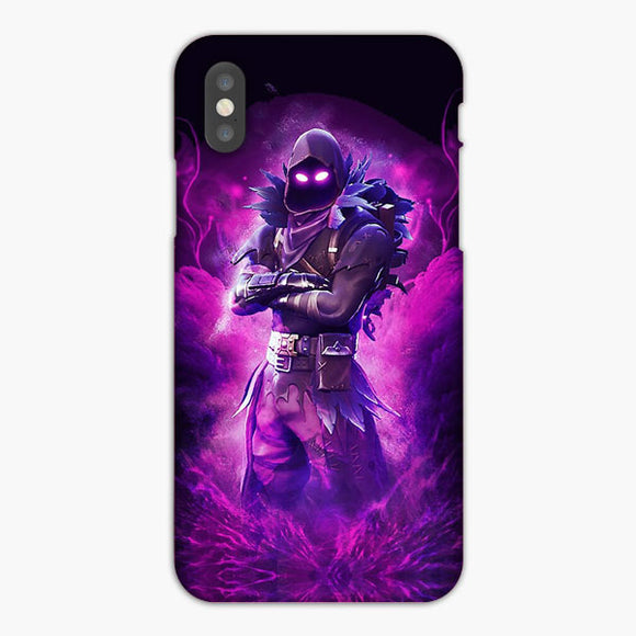 Raven Fortnite iPhone XR Case, Plastic Case, Snap Case & Rubber Case