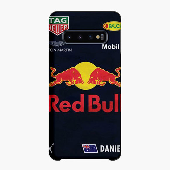 Red Bull Mobile Daniel Ricciardo Samsung Galaxy S10 Plus Case, Snap Case 3D Print