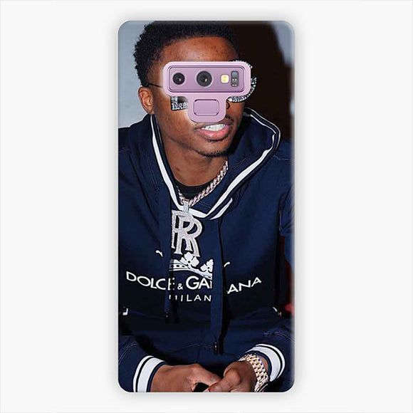 Roddy Ricch Eyegasses Black Samsung Galaxy Note 9 Case, Snap 3D Case