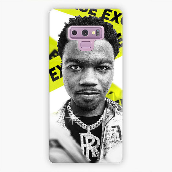 Roddy Ricch Off White Samsung Galaxy Note 9 Case, Snap 3D Case