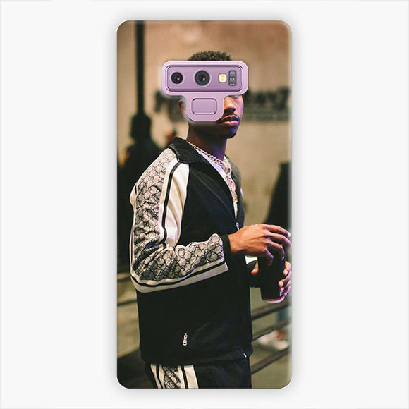 Roddy Ricch The Box Samsung Galaxy Note 9 Case, Snap 3D Case