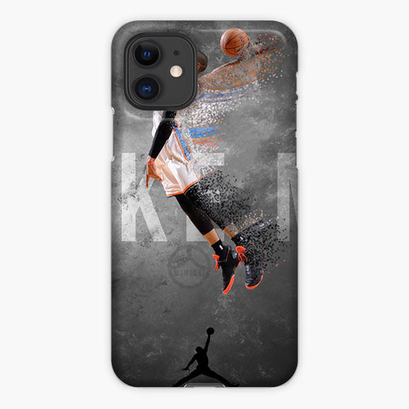 Russell Westbrook Be Like Mike Jordan iPhone 11 Case, Plastic Case, Snap Case & Rubber Case
