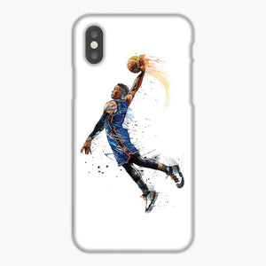 Russell Westbrook Okc Thunders Dunk Art iPhone 7 Plus Case