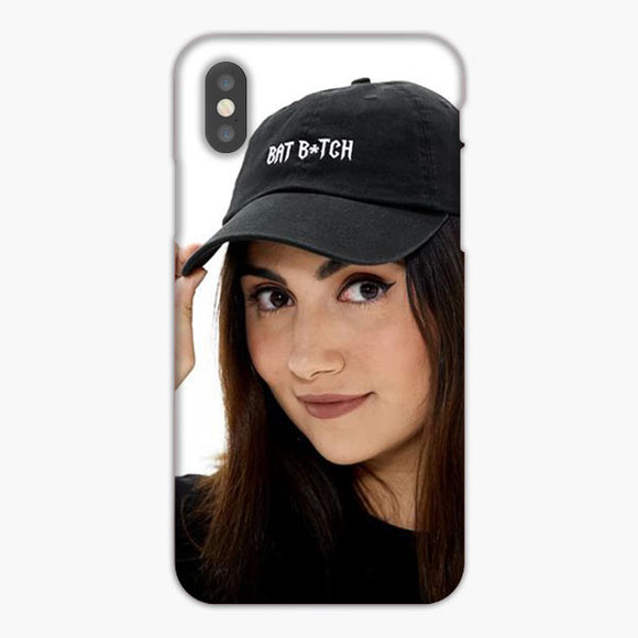 Safiya Nygaard Bat B Tch iPhone XS Case, Plastic Case, Snap Case & Rubber Case