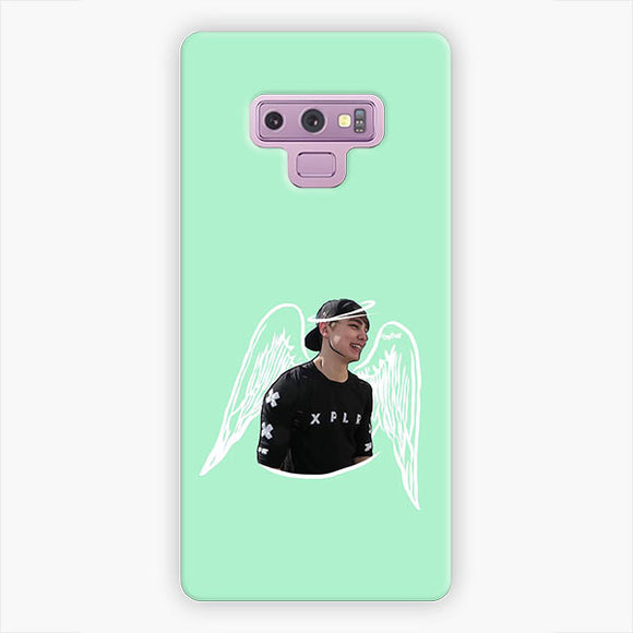 Sam And Colby Angel Samsung Galaxy Note 9 Case, Snap 3D Case