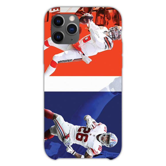 Saquon Barkley Vs Baker Mayfield iPhone 11 Pro Case