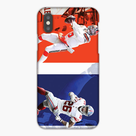 Saquon Barkley Vs Baker Mayfield iPhone 8 Case