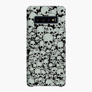 Scary The Skulls Samsung Galaxy S10 Plus Case, Snap Case 3D Print