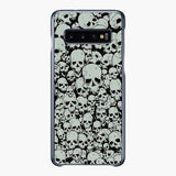 Scary The Skulls Samsung Galaxy S10 Plus Case, Tough Case