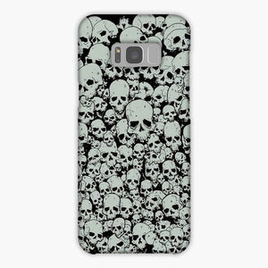 Scary The Skulls Samsung Galaxy S8 Case, Snap Case 3D Print