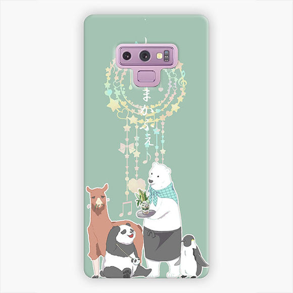 Shirokuma Cafe Polar Bear's Cafe Samsung Galaxy Note 9 Case, Snap 3D Case