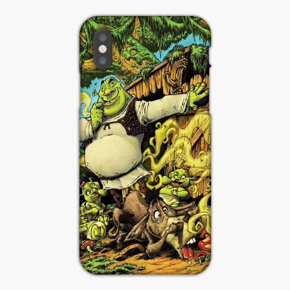 Shrek Movie Family iPhone 8 Plus Case