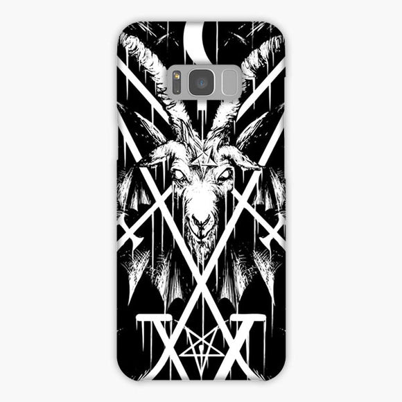 Sigil Of Lucifer And Baphomet Samsung Galaxy S8 Plus Case, Snap Case 3D Print