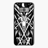Sigil Of Lucifer And Baphomet Samsung Galaxy S8 Plus Case, Tough Case