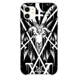 Sigil Of Lucifer And Baphomet iPhone 11 Case
