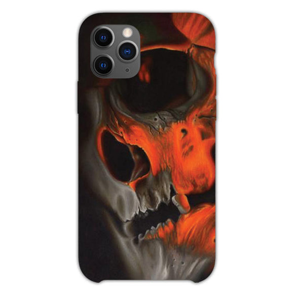Skull And Flame iPhone 11 Pro Case