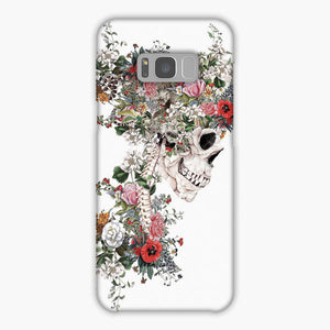 Skull Queen Samsung Galaxy S8 Plus Case, Snap Case 3D Print