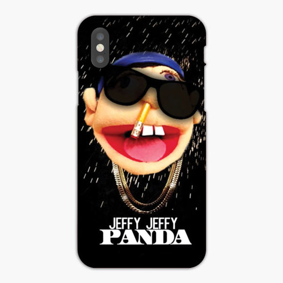 Sml Jeffy Hops Sings Panda iPhone XR Case