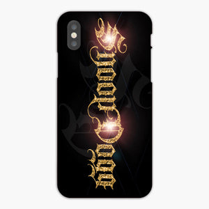 Snoop Dogg Logo Gold Light iPhone XR Case, Plastic Case, Snap Case & Rubber Case