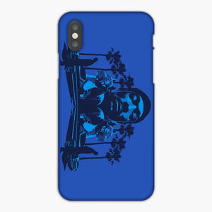 Snoop Dogg Summer Blue iPhone XR Case, Plastic Case, Snap Case & Rubber Case