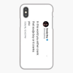 Soulja Boy Tweet In This World iPhone 8 Plus Case